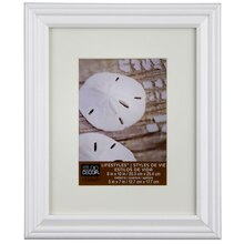 "Studio Décor Lifestyles White Frame With Mat, 5"" x 7"""