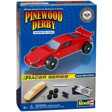 Revell Pinewood Derby Sports Car Racer Series Kit, Package