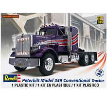 Revell Peterbilt 359 Conventional Semi Tractor Model Kit