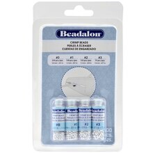 Beadalon Crimp Beads Assorted Sizes