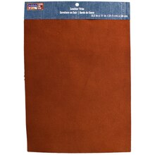 ArtMinds Suede Leather Trim, Brown