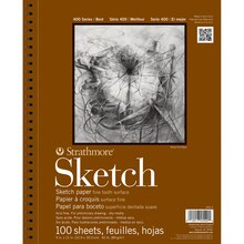 "Strathmore 400 Series Sketch Pad, 9"" x 12"""