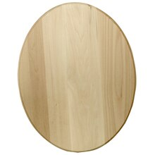 ArtMinds Basswood Oval Plaque, Front