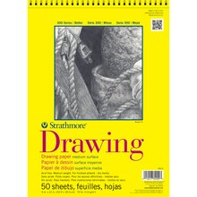 "Strathmore 300 Series Drawing Pad, 9"" x 12"""