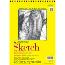 "Strathmore 300 Series Sketch Pad, 9"" x 12"""