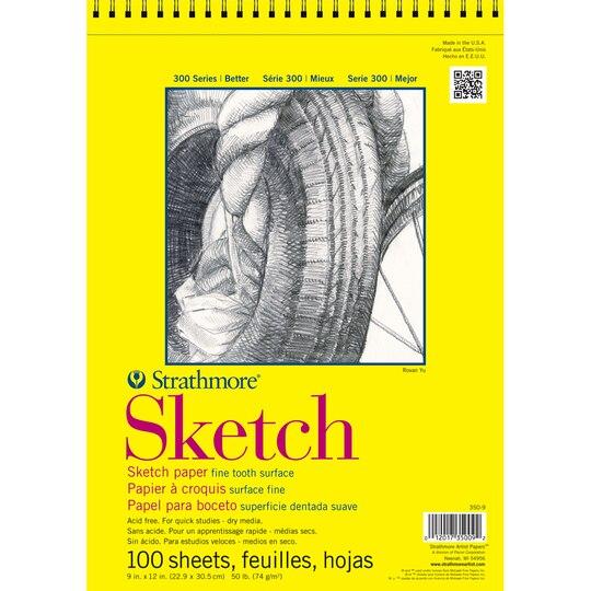 strathmore u00ae 300 series sketch pad