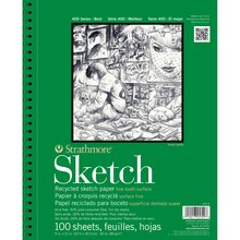 "Strathmore 400 Series Recycled Sketch Pad, 9"" x 12"""