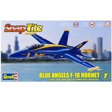 Revell Snap Tite Plastic Model Kit, Blue Angels F-18 Hornet