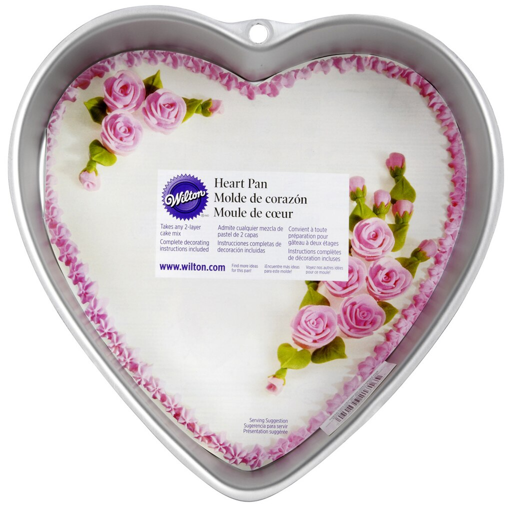 Wilton 174 Decorator Preferred 174 Heart Pan