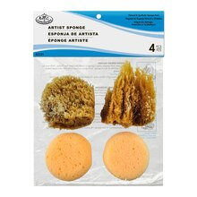 Royal & Langnickel Natural & Synth Sponge Pack