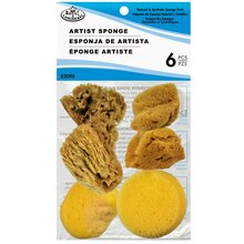 Royal & Langnickel Natural & Synthetic Artist Sponges