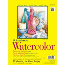 "Strathmore 300 Series Watercolor Pad, 9"" x 12"""