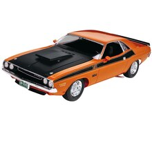 Revell Plastic Model Kit, 1970 Dodge Challenger T/A 2'N 1