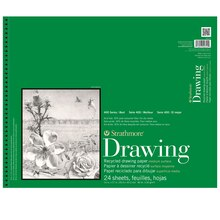 "Strathmore 400 Series Recycled Drawing Pad, 14"" x 17"""