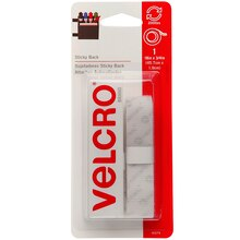 "VELCRO Brand STICKY BACK Tape, 18"", White, New Packaging"