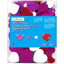 Creatology Foam Glitter Heart Stickers