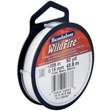 "WildFire Bead Weaving Thread, 0.006"", Clear"