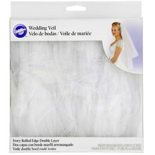 Wilton Double-Layer Wedding Veil, Packaging