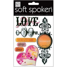 MAMBI Soft Spoken Embellishments, Love