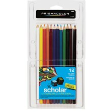 Prismacolor Scholar Colored Pencils, 12 Count