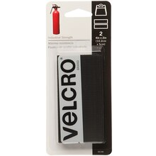 VELCRO Brand Industrial Strength Strips, Black, New Packaging