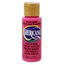 Americana Acrylic Paint 2 oz., Royal Fuchsia