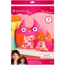 American Girl Crafts Sew & Stuff Kit, Owls