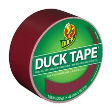 Color Duck Tape Brand Duct Tape, Merlot