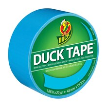 Color Duck Tape Brand Duct Tape, Electric Blue