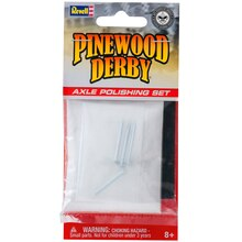 Revell Pinewood Derby Axle Polishing Set