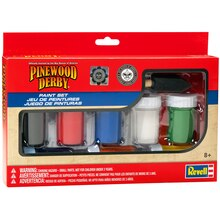 Revell Pinewood Derby Paint and Brush Set