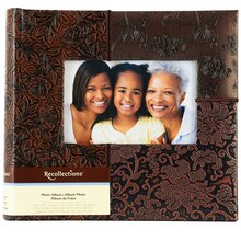 Recollections Floral Patch Photo Album