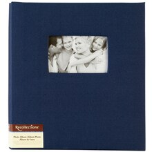 Recollections Faille Photo Album, 5 Pocket