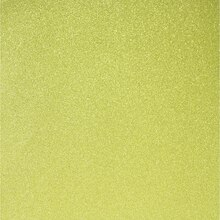 Recollections Signature Glitter Paper, Citron