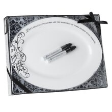 Lillian Rose Oval Guest Signing Plate