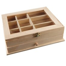 ArtMinds Wood Jewelry Box