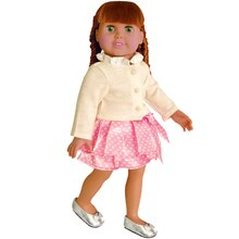 Doll Wearing Springfield Collection Doll Party Outfit