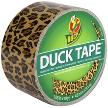 Printed Duck Tape Brand Duct Tape, Leopard