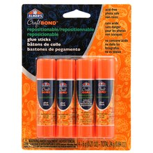 Elmer's CraftBond Repositionable Glue Sticks