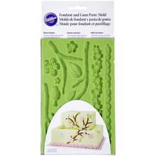 Wilton Fondant & Gum Paste Mold, Nature