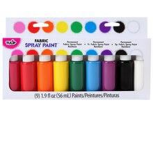 Tulip Fabric Spray Paint Kit, Rainbow