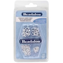 Beadalon® Findings Variety Pack, medium