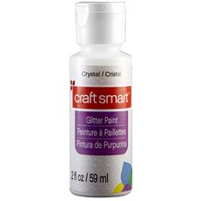 Craft Smart Glitter Paint, Crystal