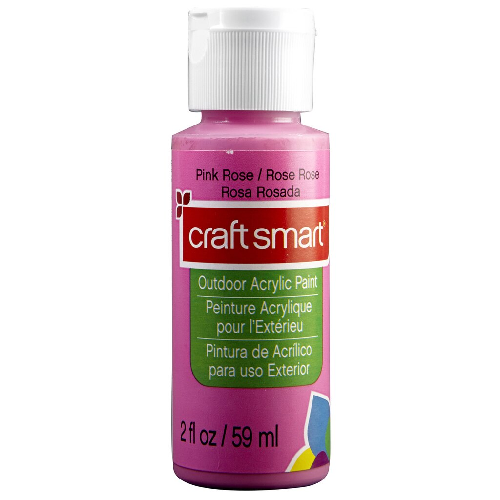 Craft smart outdoor acrylic paint for Acrylic paint water resistant