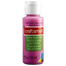 Craft Smart Outdoor Acrylic Paint, Pink Rose