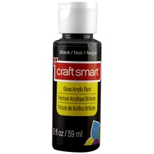 Craft Smart Gloss Acrylic Paint, Black