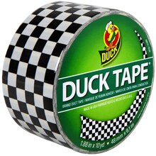 Printed Duck Tape Brand Duct Tape, Checker
