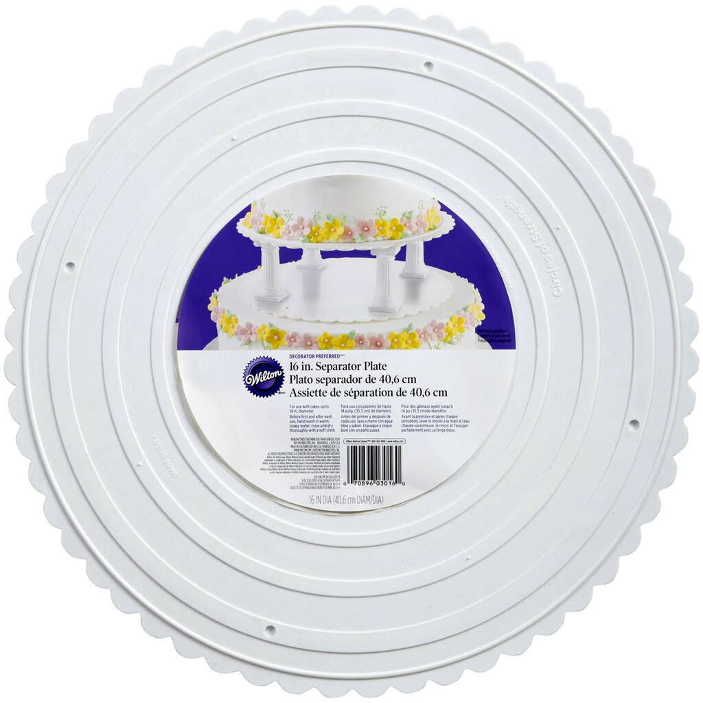 Wilton  Decorator Preferred  Separator Plate