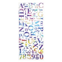 Sticko Watercolor Alphabet Stickers