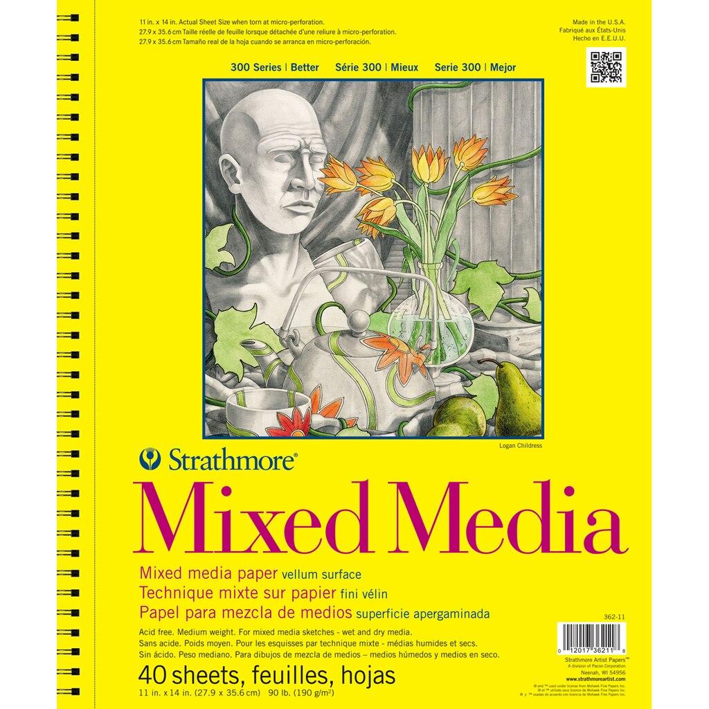 Strathmore 174 300 Series Mixed Media Pad